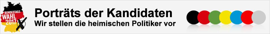 Porträts der Kandidaten